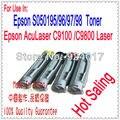 Для Epson AcuLaser C9100 C9100B C9100DT Принтер Картридж, Для Epson C13S050195 C13S050196 C13S050197 C13S050198 Комплект Тонера