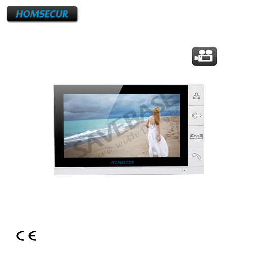 HOMSECUR 9 TM901R Indoor Monitor with Recording function for Video Door Phone Intercom