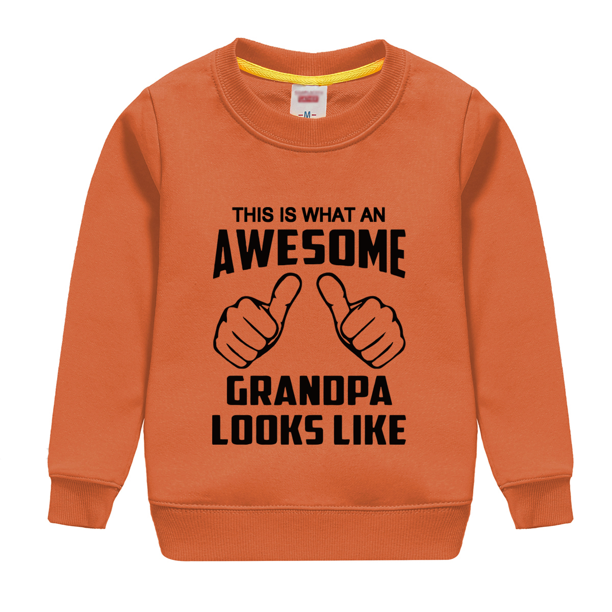 "HTB1l3jijyqAXuNjy1Xdq6yYcVXaY - ""this is what an awesome granopa  looks like "" printing 2018 new fashion cotton sweatshirt baby boy clothing top tees for kids"