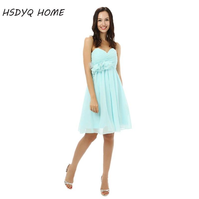 Лето-Line вечерние платья для выпускного вечера просто складки Вечеринка платье