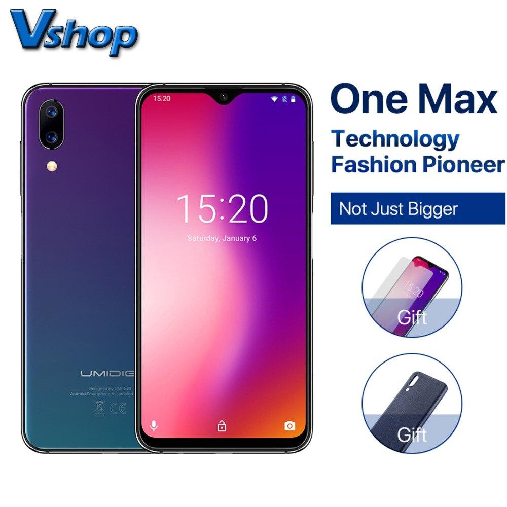 Original Umidigi ONE MAX 4G Mobile Phone Android 8 1 4GB RAM 128GB ROM Octa Core