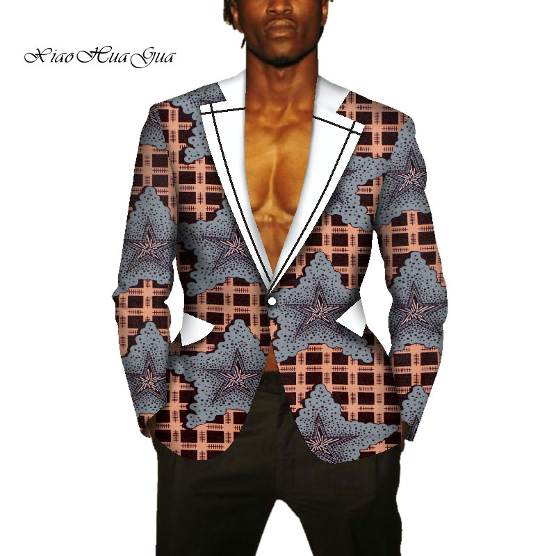 African Men's Clothing Suit Jackets Formal Suits Tops Coat Business Dashiki party wedding suits african mens clothes wyn631