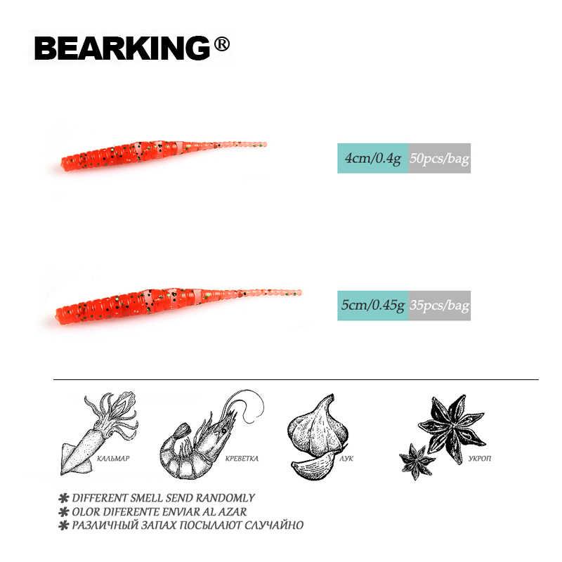 2019 Señuelos de Pesca BEARKING Polaris 4cm 5cm señuelo suave cebo Artificial Predator Tackle JERKBAIT para lucio y Lucio