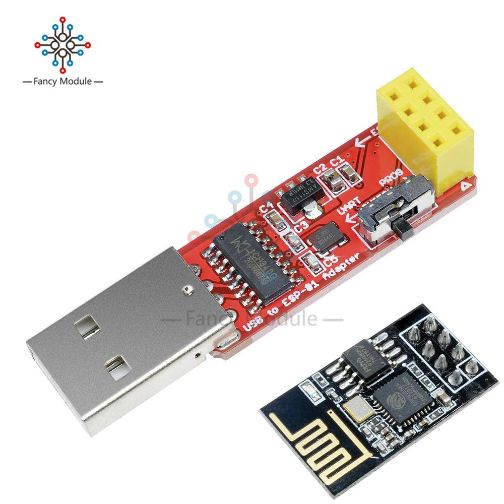CH340 USB to <font><b>ESP8266</b></font> Serial ESP-01 ESP-01S <font><b>Adapter</b></font> Wireless Wifi Wi-Fi Developent <font><b>Board</b></font> ESP01 ESP01S Programmer <font><b>Adapter</b></font> Module image