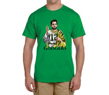 New god AARON RODGERS Godgers 100% cotton t shirts Mens gift T-shirts for packers fans 0214-16