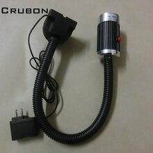 Crubon 9 Вт 24 В/220 В мягкий стержень алюминия высокой мощности LED ЧПУ Свет/Рабочий стол лампа/фрезерный станок свет