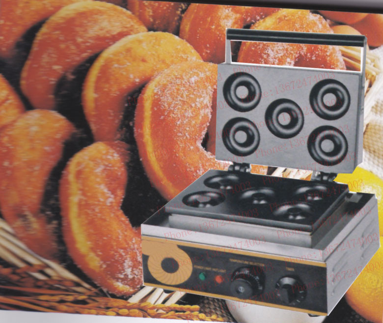 Free Shipping 220V/110V sweet donut maker, donut machine, cookie maker 110v 220v automatic donut making machines with 3 mold free shipping