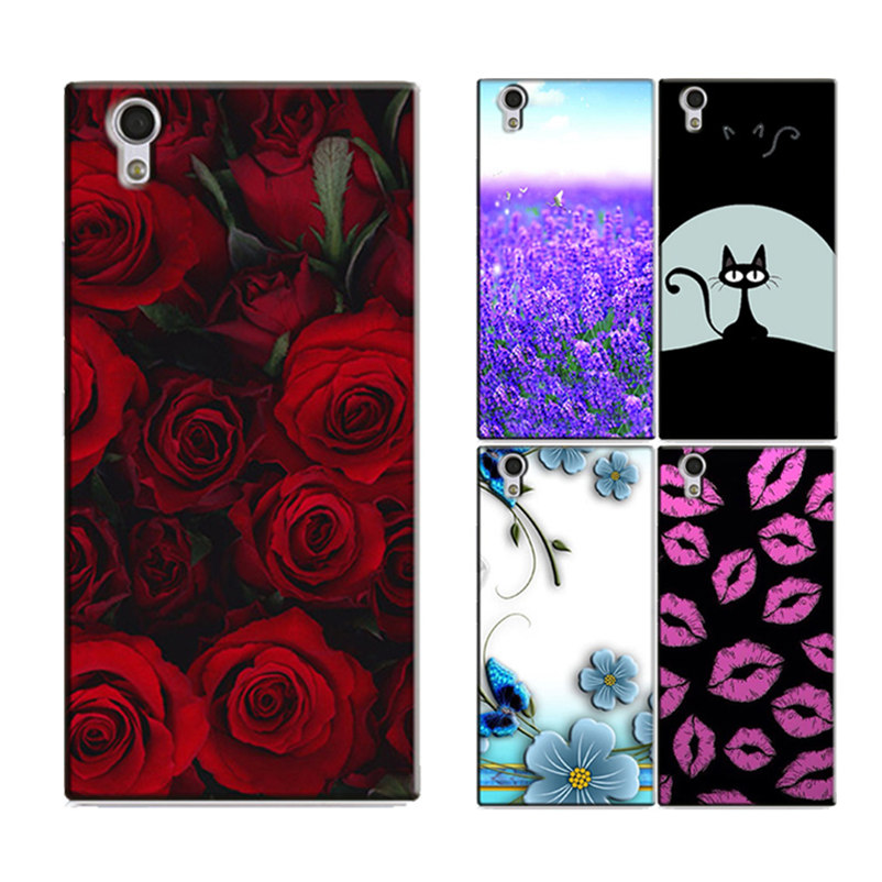 for Lenovo S850 S 850 S850T Original Phone Case Printed Back Cover Shell Bag Painting Skin Flower Coque Capa