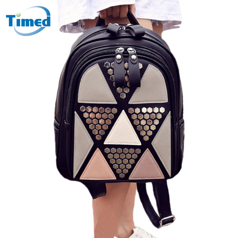 New Arrive 2017 Women bags Fashion All-match Backpack Lady PU Leather Shoulder Bag Casual Travel Small School Bag For Girls стоимость