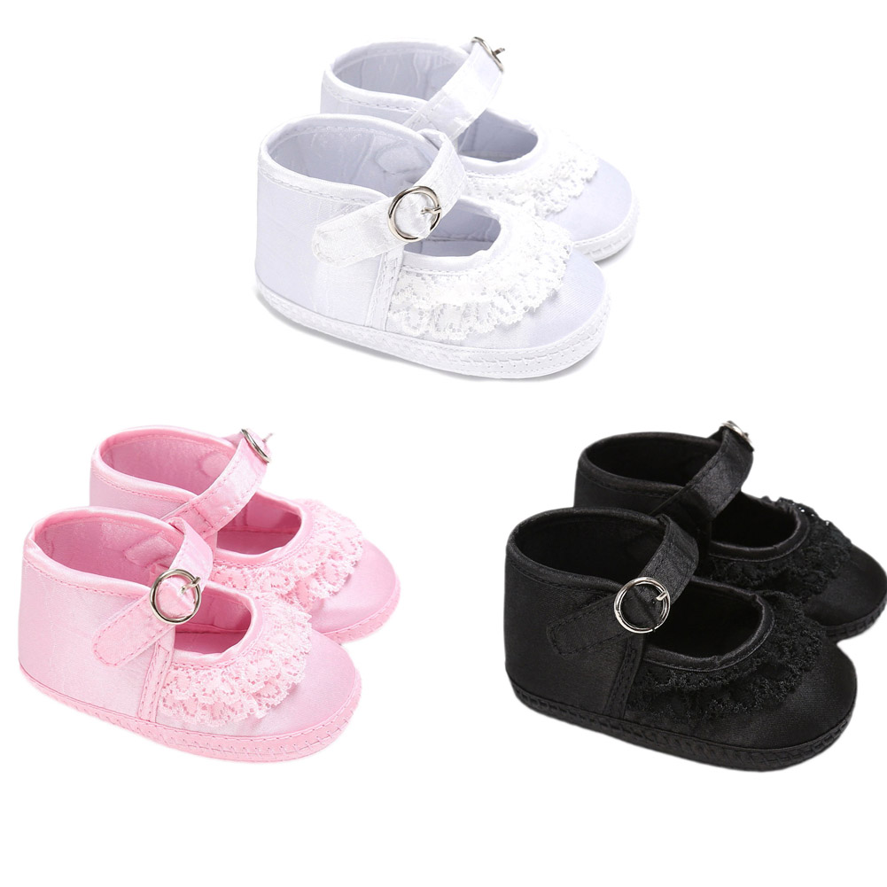 3 Colors School Baby Shoes Soft Soled Newborn Boys Girls Shoes First Walkers For Baby