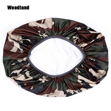 210D Camo Bag Rain Cover 35-70L Protable Waterproof Anti-lear tahan debu Anti-UV Backpack Berkhemah Hiking Coating 8 Warna