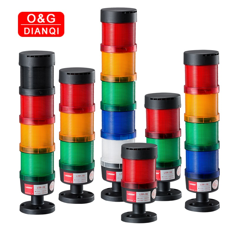 Stack Lamp Industrial Emergency Light Stack Light LED Warning Light Tower Light Industrial Light Tower 12V 24V 110V 220V 380V