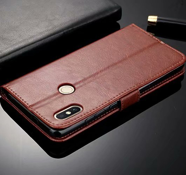 low priced e5990 1b844 Global Version For Xiaomi Redmi NOTE 5 Case Flip Wallet Genuine ...