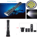 Solarstorm DX4S (upgraded from DX4) XM-L U2 3200LM LED Diving Flashlight Torch Brightness Waterproof 100m White Light Led Torch
