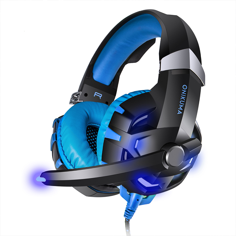 где купить DPRUI K2 Gaming Headset PS4 Headset Bass Stereo Computer Game Headphones with microphone LED Light for PC New Xbox One Tablet дешево