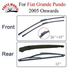 Partsworld стеклоочистители ветрового стекла для Fiat Grande Punto 2005- автомобильные аксессуары