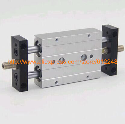 Airtac Type Dual Rod Pneumatic Cylinder/Air Cylinder STMB Series STMB20*50 STMB20-50Airtac Type Dual Rod Pneumatic Cylinder/Air Cylinder STMB Series STMB20*50 STMB20-50