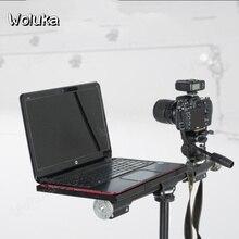 Крестообразный поднос аксессуары для фотографического оборудования универсальный металлический поднос платформа держатель 3/8 для проектора ноутбуки CD50 T08 X