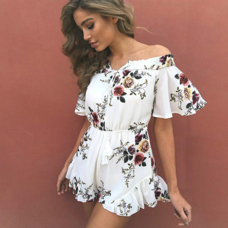 Very Top quality Sexy Fashion Jumpsuits Playsuits Bodysuits women summer