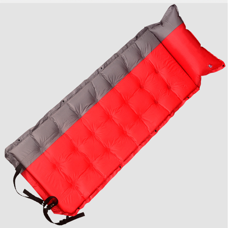Camping Sleeping Mattress Tent Folding Bed Automatic Filling Pad Inflatable Fast Filling Air Bag With Pillow samcamel outdoor camping mat double air mattress inflatable mattress airbed inflatable bed air bed tent folding bed folding bed