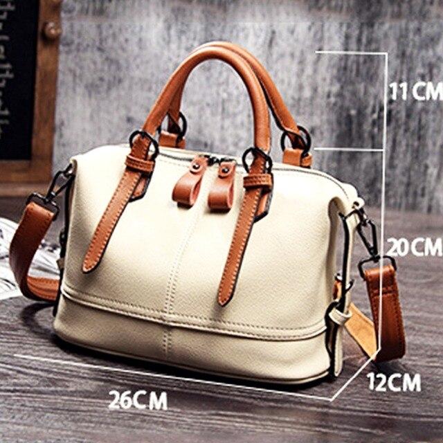 Natural Cowhide Handbag  1
