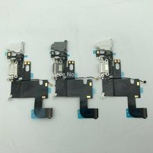 2pcs/lot For Phone 6 best quality USB Charging Port Dock Connector Flex Cable