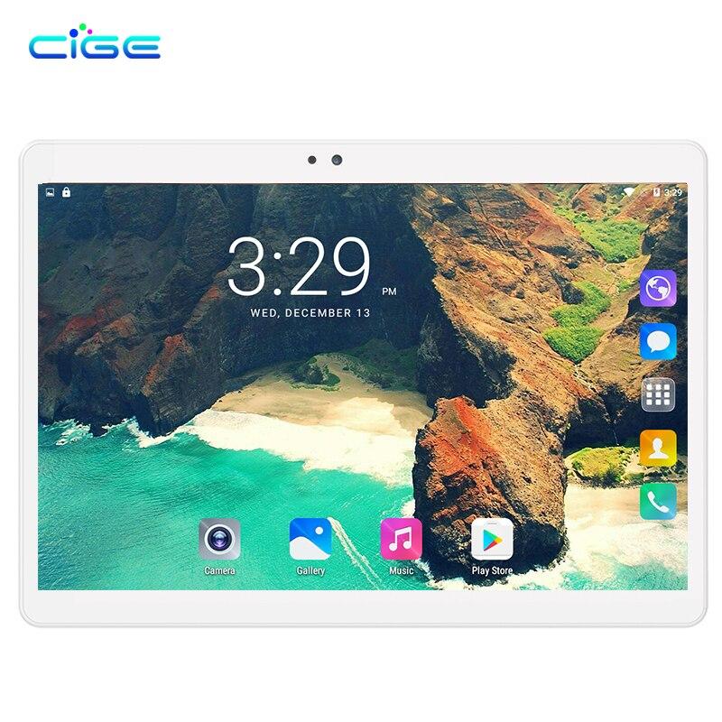 CIGE X20 Tablet PC 10.1 inch 3G Phone Tablets PCs Ocat Core 4GB RAM 32GB/64GB ROM Dual SIM Card Android 7.0 Smart tablets PCs 10