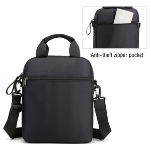 Image 2 - Man Classic Messenger Bag Mens Multifunction Shoulder Bags Nylon Business Wallet Bag For Men Simple Handbags XA259ZC