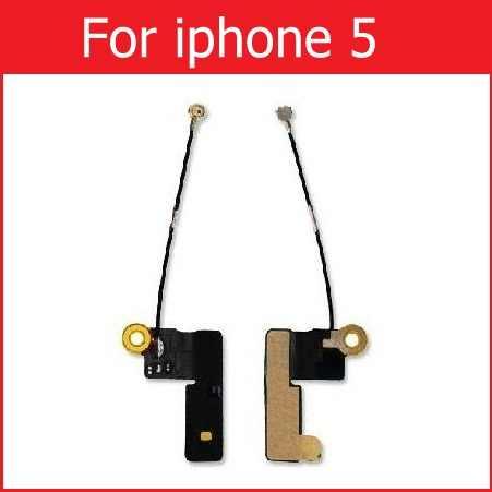 Asli Wifi Sinyal Antena Kabel Fleksibel untuk iPhone 4 S 5 S 5 5C 6 S 7 7 Plus X XR XS Max Kerja Bersih Konektor Antena FLEX Kabel Perbaikan