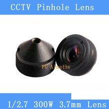 PU`Aimetis surveillance infrared camera HD 3MP lens 1/2.7 3.7mm M12 thread CCTV lens