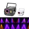 Лазерный 3D светильник RGB цветные DMX 512, сканер, проектор для вечеринки, Рождества, диджея, диско, шоу, свет s, Клубное музыкальное оборудование, ...