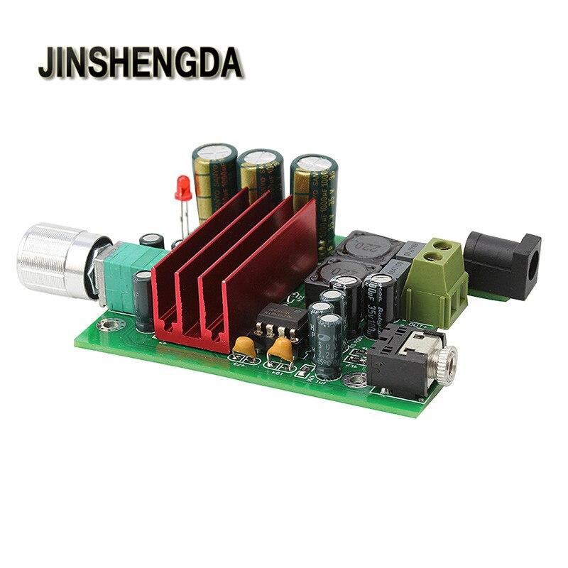 JINSHENGDA Amplifier for TPA3116D2 Subwoofer Digital Power Amplifier 100W AMP Board Audio Module a960 i concerto 100w digital audio power amplifier golden