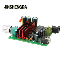 JINSHENGDA  Amplifier for TPA3116D2 Subwoofer Digital Power Amplifier 100W AMP Board Audio Module