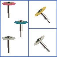 2 stücke Dentallabor HP 19mm Durchmesser Gefüllt Gummi Diamond Rolisher für Zirkonia Schnelle Beseitigung, glättung, polieren