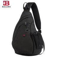 BALANG Messenger Bag Men Nylon Multipurpose Chest Pack Sling Shoulder Bags For Men Casual Crossbody Bolsas
