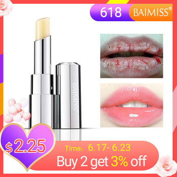 BAIMISS Watery Vivid Lip Balm Highly Nourishing Moisturizing Lipstick Baby Lips Lipbalm Anti Aging Makeup Lip Care Beauty