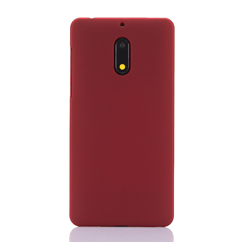 Phone Cases sFor Coque Nokia 8 Case Slim 360 Matte Hard plastic PC Candy Color Back Cover For Fundas Nokia 3 5 6 8 Case in Half wrapped Cases from Cellphones Telecommunications
