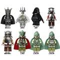 8 unids/lote Súper Héroe Figuras de el Señor de los anillos Nazgul La los hobbit khan se vende edificio lepin bloques diy regalo del bebé juguete