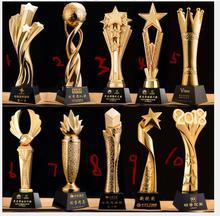 Custom-made World Cup trophy creative resin decoration custom-made high-grade metal handicraft medal thumb crafts statue jules rimet trophy cup the world cup trophy champions trophy cup for soccer souvenirs award