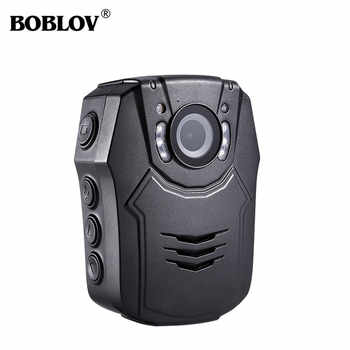 BOBLOV PD50 Novatek 96658 IR Night Vision Body Worn Camera 150 Degree Security Pocket Police Camera Global Free Shipping - DISCOUNT ITEM  27% OFF All Category
