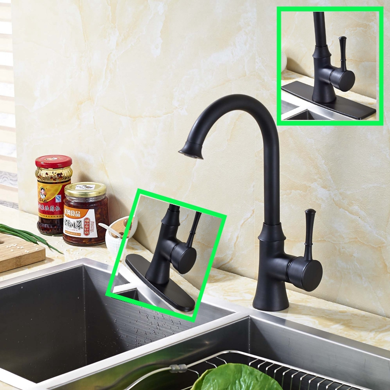 Newly Arrival Bathroom Sink Oil Rubbed Bronze Faucet Mixer Single Handle Hole