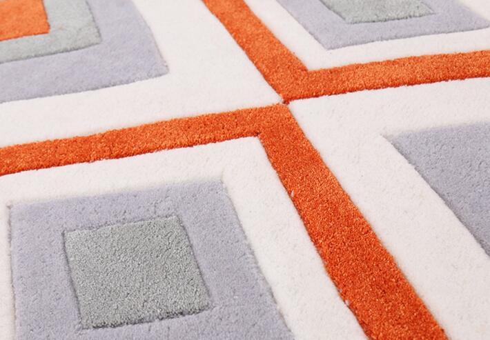 Salon Orange Et Gris. Cool Large Size Of Tapis Orange Salon Unique ...
