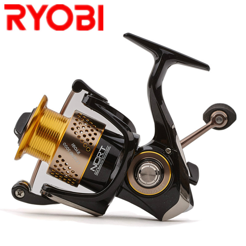 RYOBI Spinning Reel 1000 2000 3000 4000 5000 6000 5.1:1/5.0:1 Spinning Wheel Fishing Tackle for Carp Fishing Molinete De Pesca