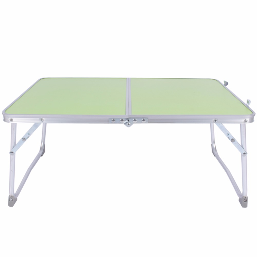 Portable computer picnic desk camping folding table laptop for Bureau table