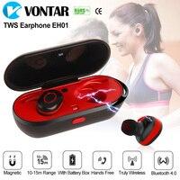 Mini Wireless Ear Buds Sweat Proof Wireless Earphone Bluetooth Portable Headphone With Charging Box