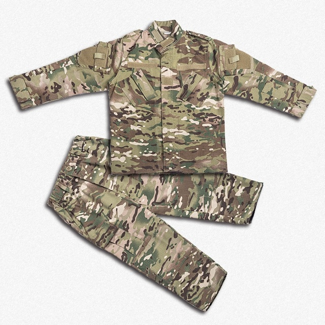 Children Military Uniform Camouflage Suit Boy Girl Airsoft Clothes Jacket+Pants Army Military Paintball Combat Camo CS Clothes