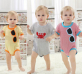 Free shipping High quality summer Baby rompers girl boy's short sleeve pajamas summer jumpsuit children pajamas