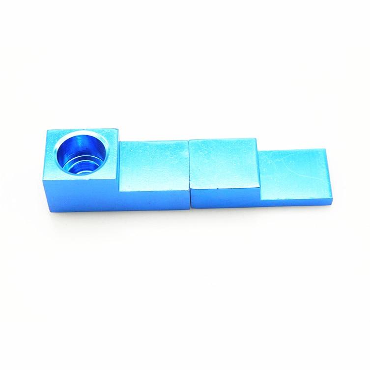 1 St Mini Draagbare Fluitje Vorm Vouwen Pijp Metalen Magneet Voor - Huishouden