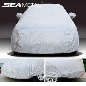 Image 1 - Bâche universelle pour voiture, couverture de protection imperméable, pour berline, SUV, protection contre le soleil, accessoire pour véhicule