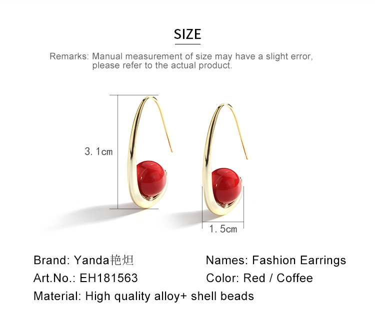 fashion pearl gold stud drop earrings 01 (18)